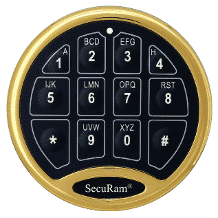 Touch Keypad for Safe or Vault