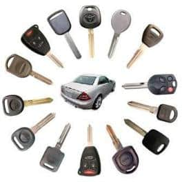 Remote transponder key, car key replacement