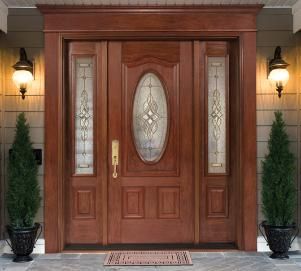 Doors, Residential front door